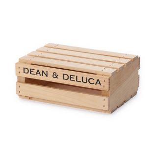 DEAN & DELUCA ウッドクレートボックス Sサイズ