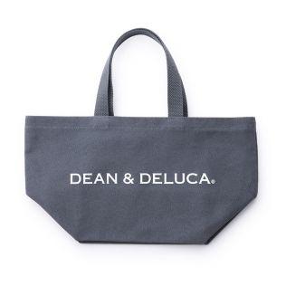 DEAN & DELUCA トートバッグ チャコールグレー S