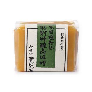 関東屋 天日塩仕込特別吟醸 白味噌