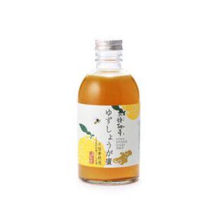 木頭いのす 木頭柚子のゆずしょうが蜜