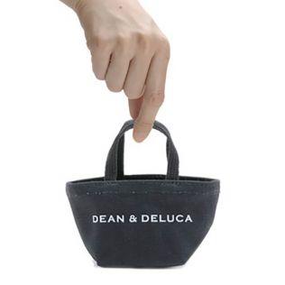 DEAN & DELUCA トートバッグ ブラック ミニ