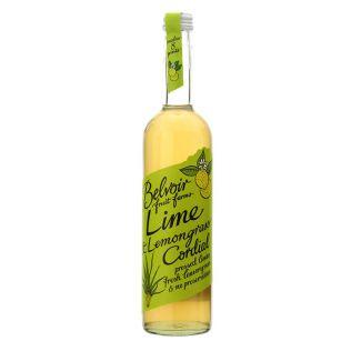 ベルボア オーガニックコーディアル ライム&レモングラス