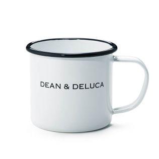 DEAN & DELUCA ホーローマグカップ ホワイト 180cc